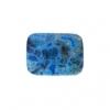 Blue Crazy Lace Agate 13x18mm Rectangle 9Pcs Approx